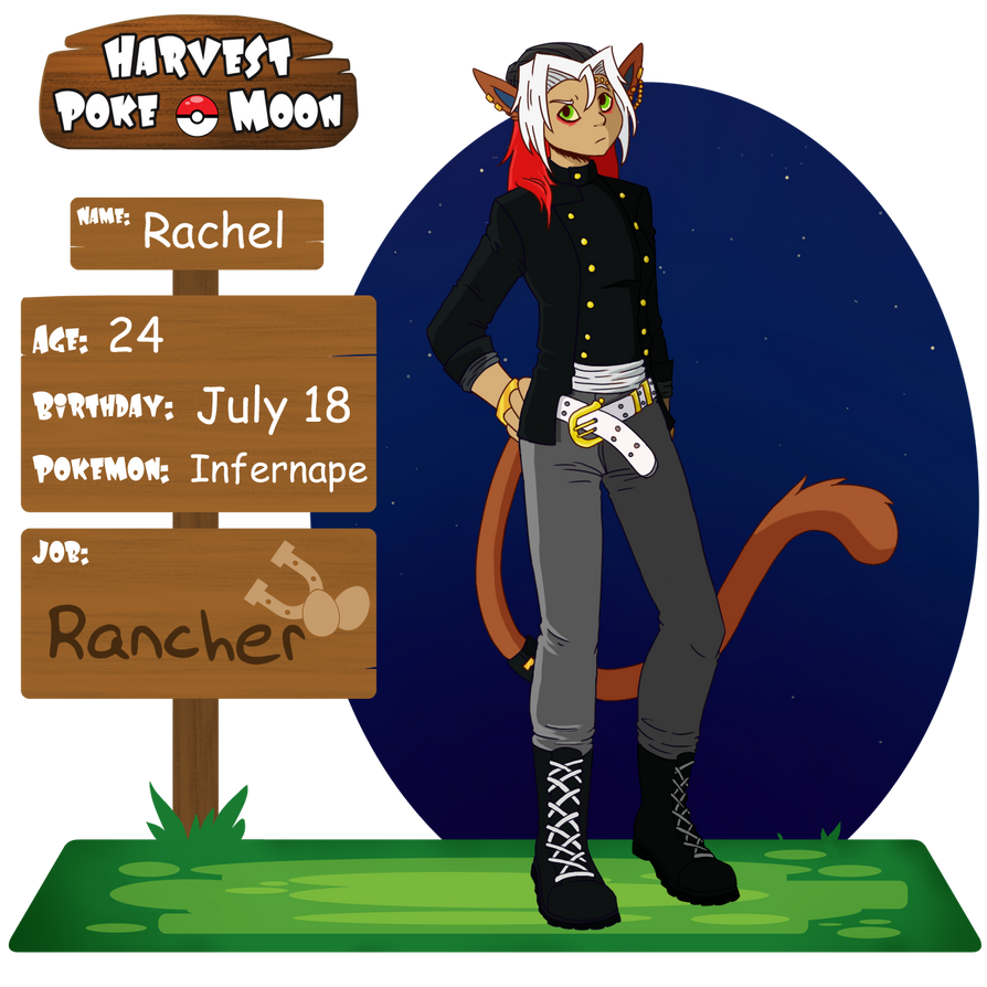 Rachel App Sheet by redflamekitty44