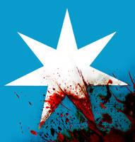 blood on a star by Malach