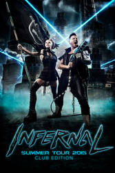 Infernal - Tour poster 1 by Malach