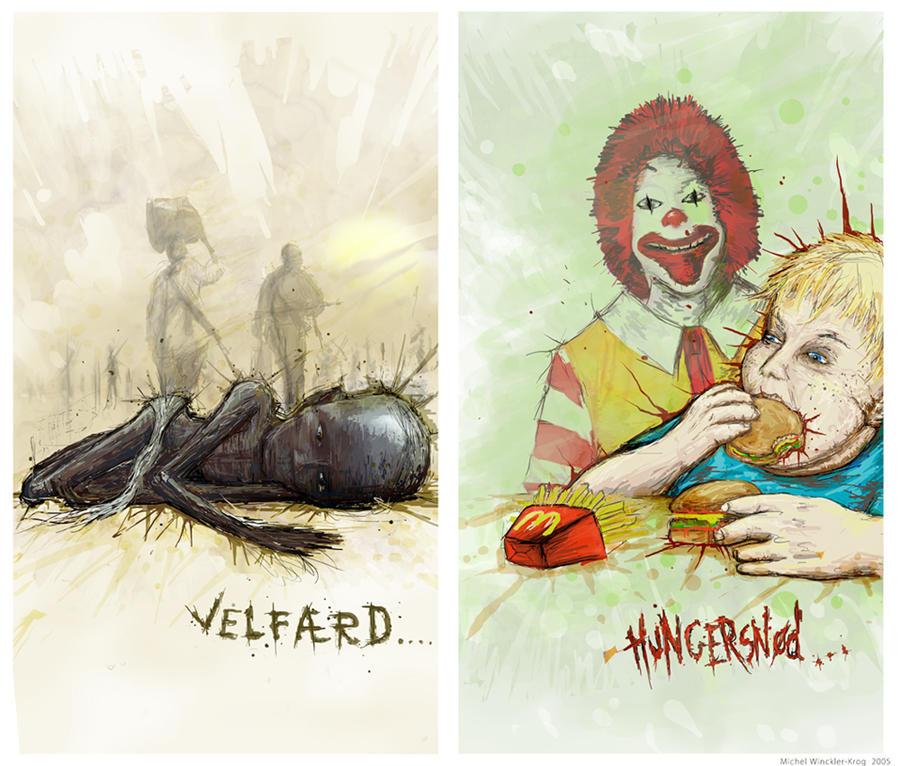 welfare - famine by Malach