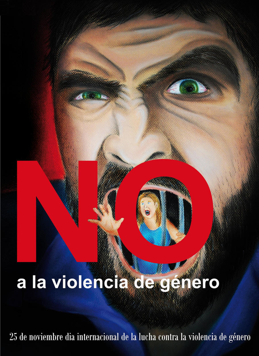No a la violencia de genero by psychotic-art