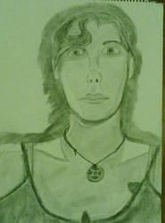 My self-Portrait by xenvrae