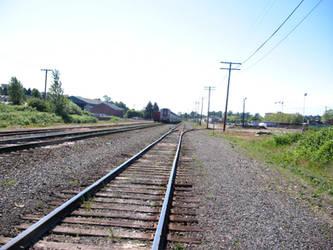 Train tracks I by xenvrae