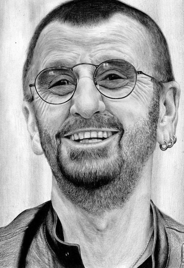 Ringo Starr By Sabdi