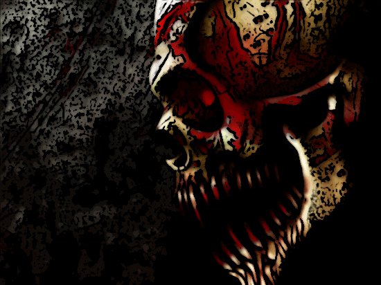 bloody skull wallpaper related - photo #24