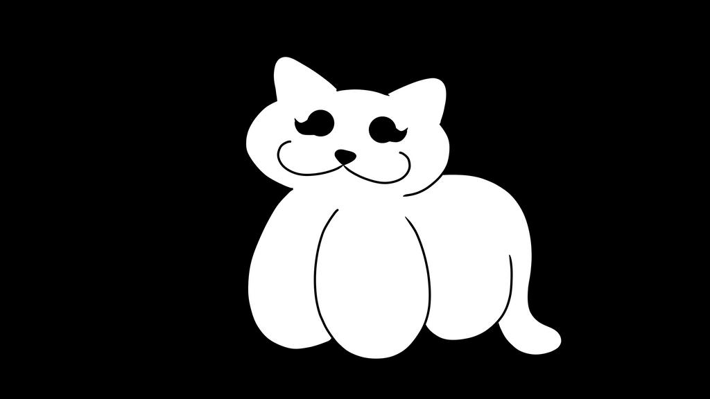 Female Cat Plushie Base by Dovepetal41