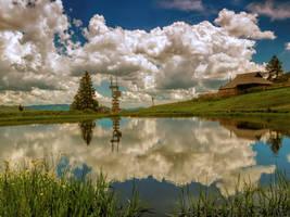 Mountain Lake by VBmonkey26
