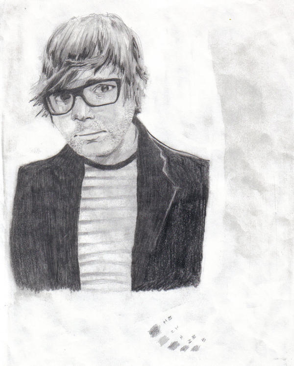 finished Ben Gibbard by kidswithguns90