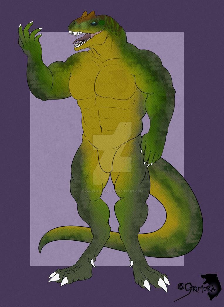 [ADOPTS] Allosaurus hunk! [OPEN] by kankurosdoll