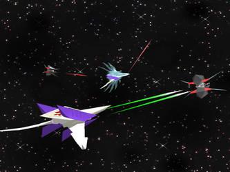 Star Fox: Space Dogfight by Kiloku