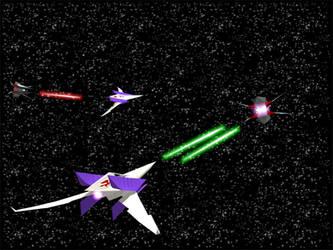 Star Fox Dogfight Version 2 by Kiloku