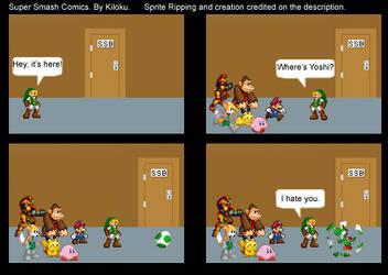Super Smash Comics 1 by Kiloku