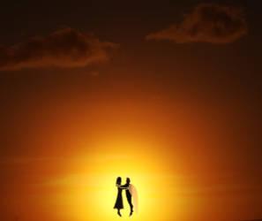 Angel and Girl by Kiloku