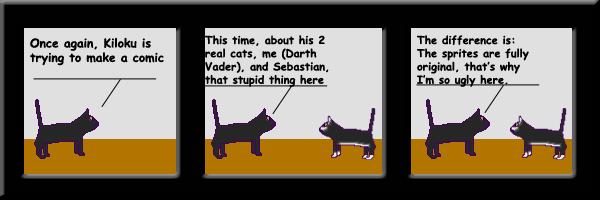 Spritey Cats - Pilot by Kiloku