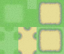 Tileset herbe et chemin 1 by Anarlaurendil