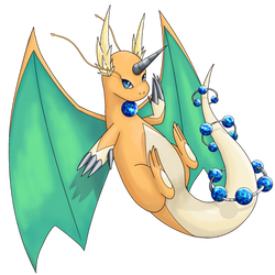 Mega Dragonite by Anarlaurendil