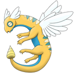 Seragon - Dunsparce final evolution
