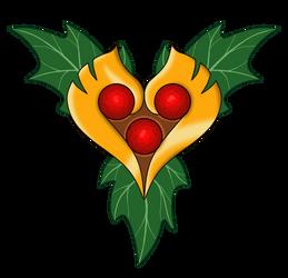 Holly Heart Talisman
