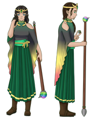 High Priest and Priestess of Rayquaza