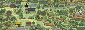 Keltios Map - Sylvan Town