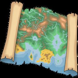 Keltios Map (Key item artwork)