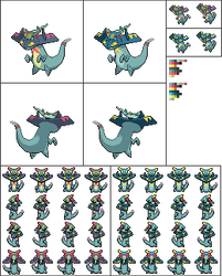 Drakloak - full sprite set