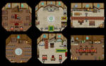 Fintan Manor - Interior map by Anarlaurendil