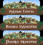 Sylvan Town - Panel by Anarlaurendil