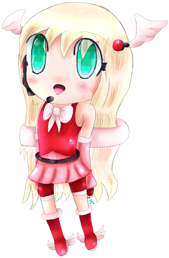 Very ugly chibi Angela Natale xD by AquaPatamon