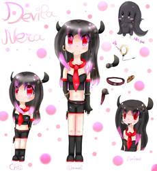 OC Swiss Vocaloid - Devila Nera by AquaPatamon