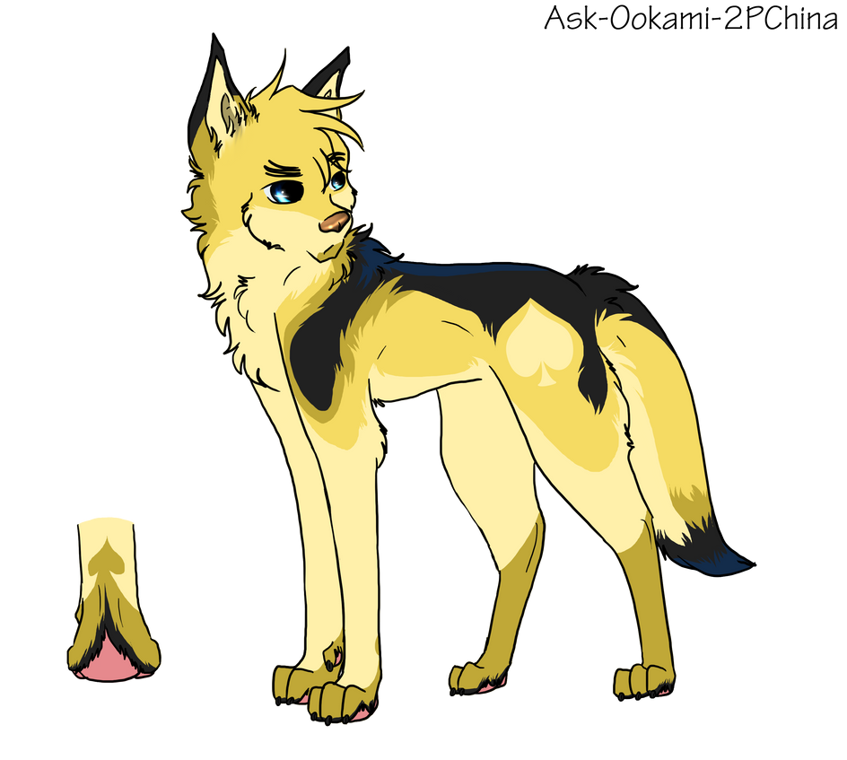 Queen of Spades Design for Ask-Wolf-England by Ask-Ookami-2PChina