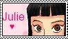 Julie Yamamoto Fan stamp by XJose-chanX