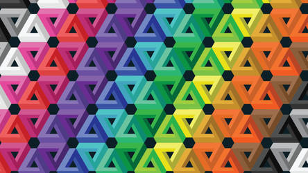 Tessellated Impossible Triangle