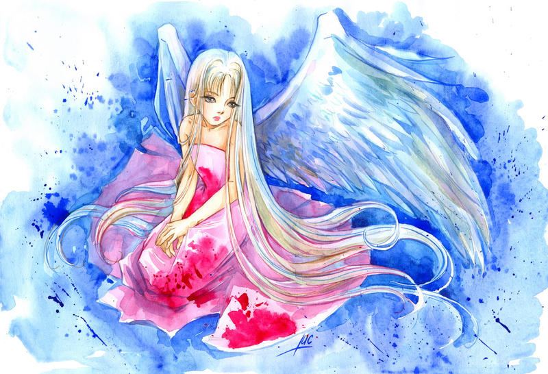 Angel by Maria-Sandary