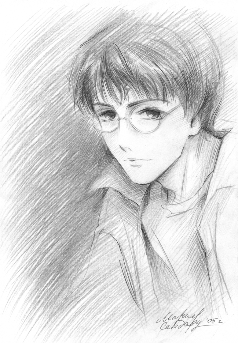 Harry Potter by Maria-Sandary