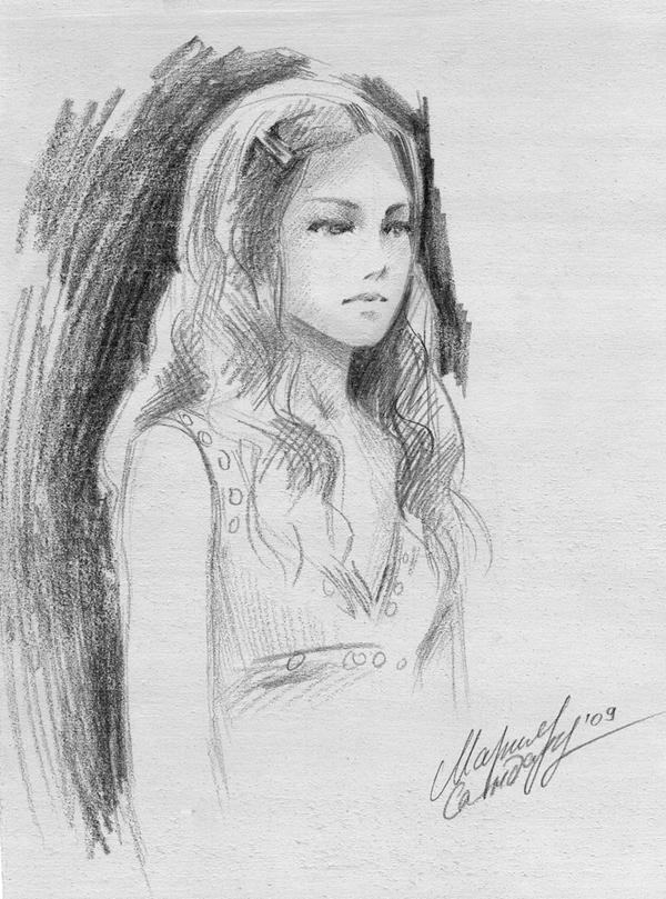 Ginny Weasley by Maria-Sandary