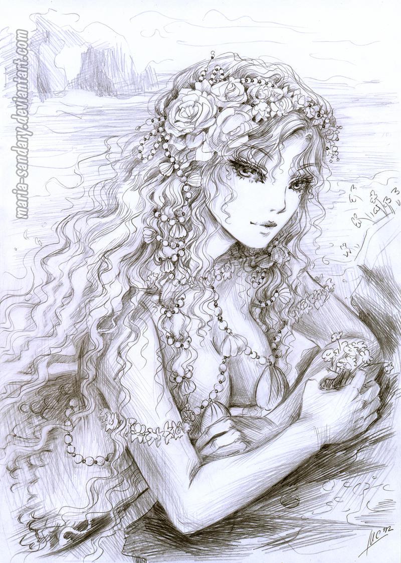 sea princess by Maria-Sandary
