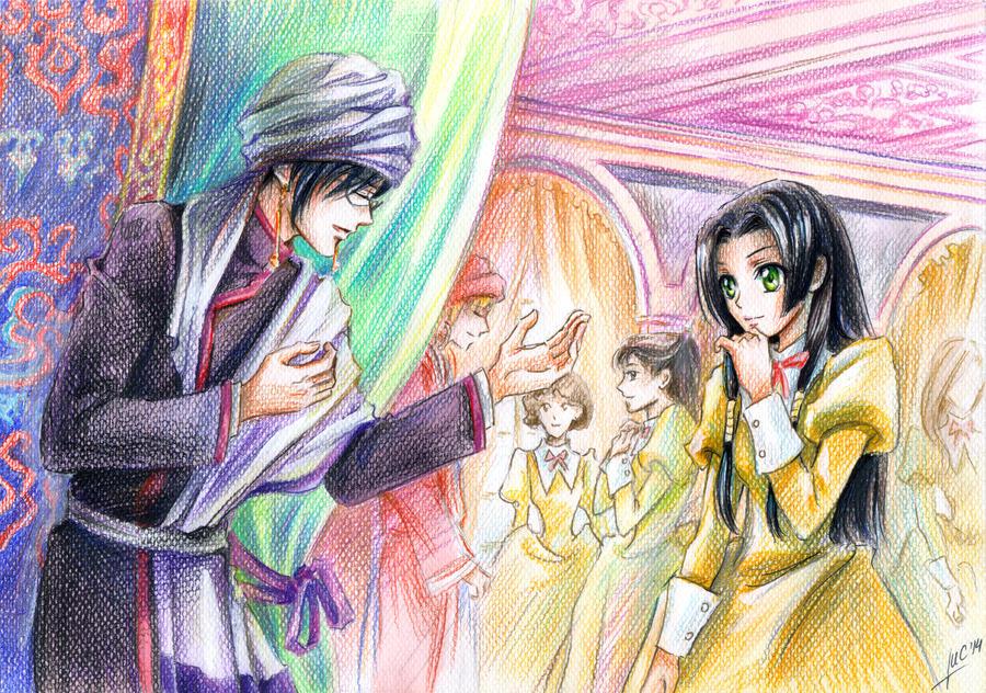 a fairy tale for Kaguya Sumeragi by Maria-Sandary