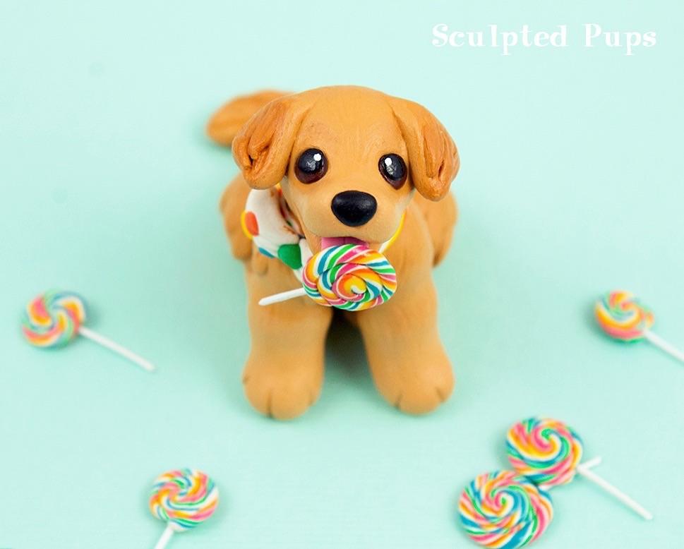 Sculptober Day 4: Candy! by SculptedPups