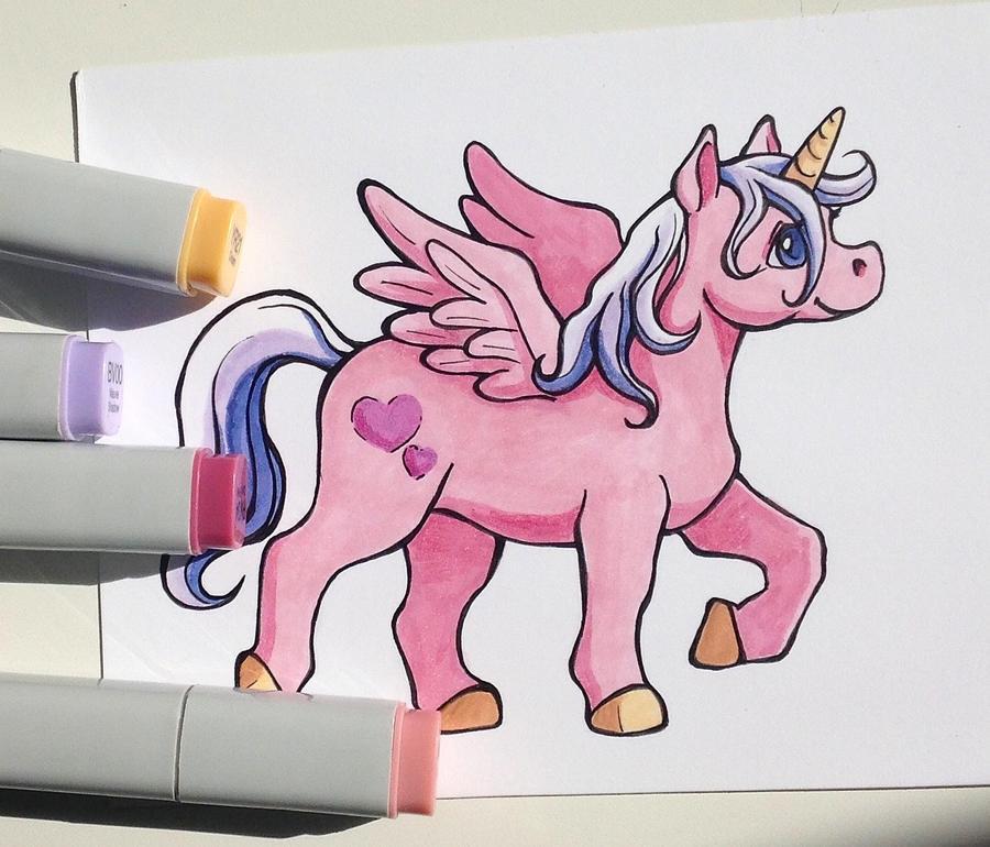 Pretty pink pony by SculptedPups