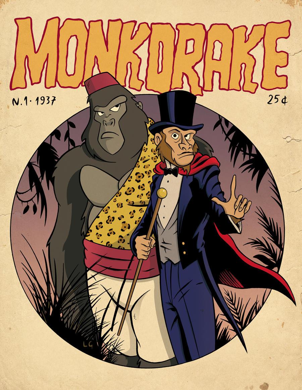 Monkdrake by LucaGiorgi