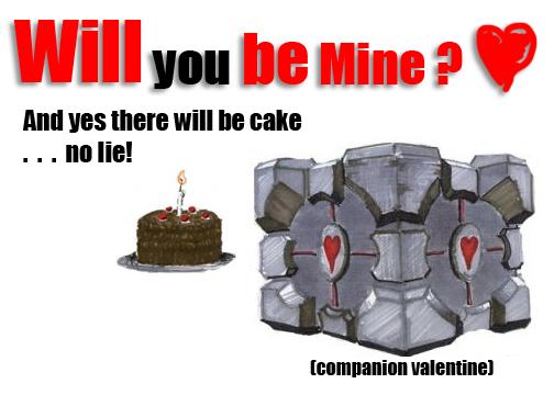 Companion valentine by rampagingemu