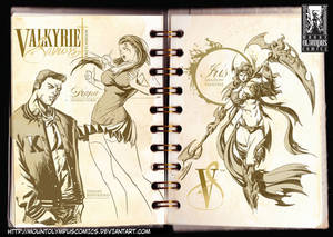 Characters from Valkyrie Saviors