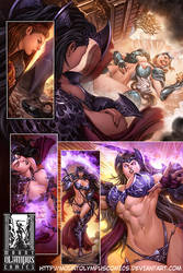 Valkyrie Saviors Preview 1 by Mountolympuscomics