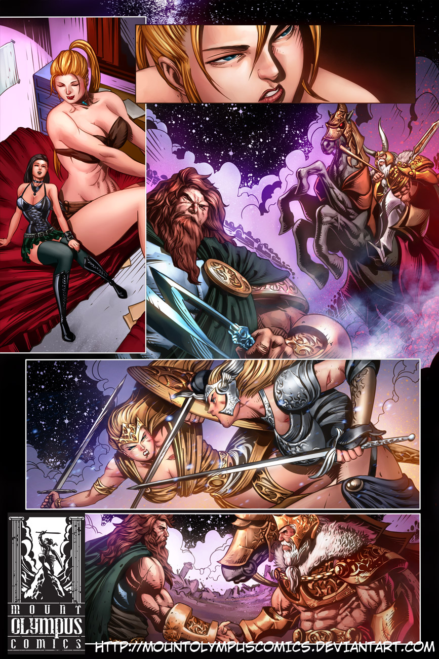 Valkyrie Saviors Preview 3 by Mountolympuscomics