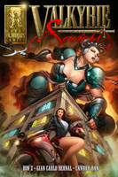 Valkyrie Saviors Cover Preview by Mountolympuscomics