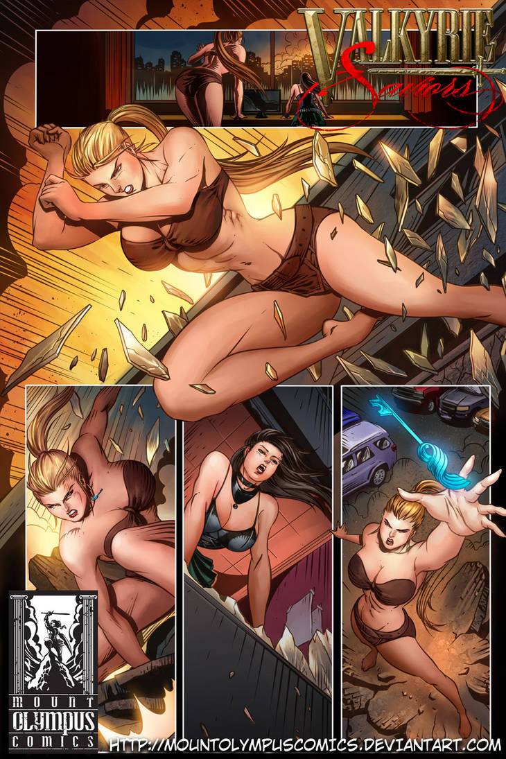 Valkyrie Saviors Preview 4 by Mountolympuscomics