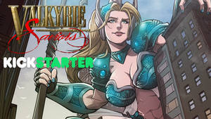 Valkyrie Saviors #1 Kickstarter coming this Friday by Mountolympuscomics