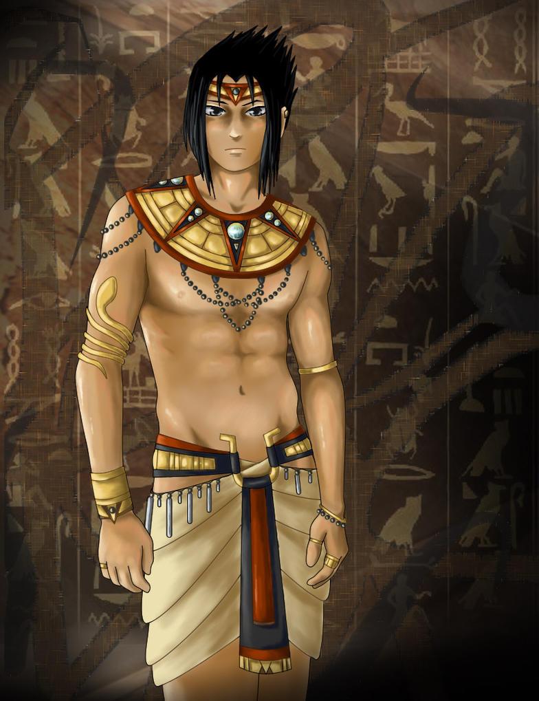 If Sasuke Were Pharaoh by SilvrRainFell