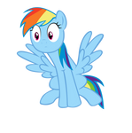 [Vector] Rainbow Dash 2